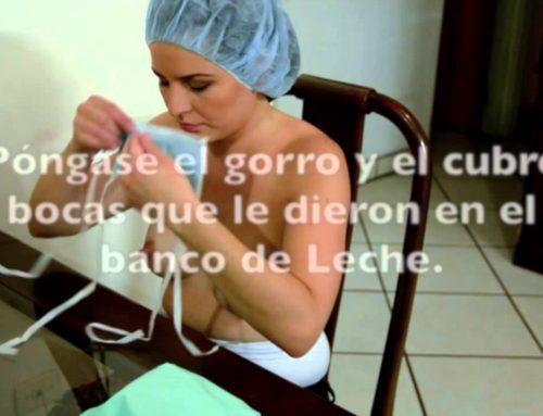 Tutorial:  Extracción de Leche en casa para donar a Banco de Leche